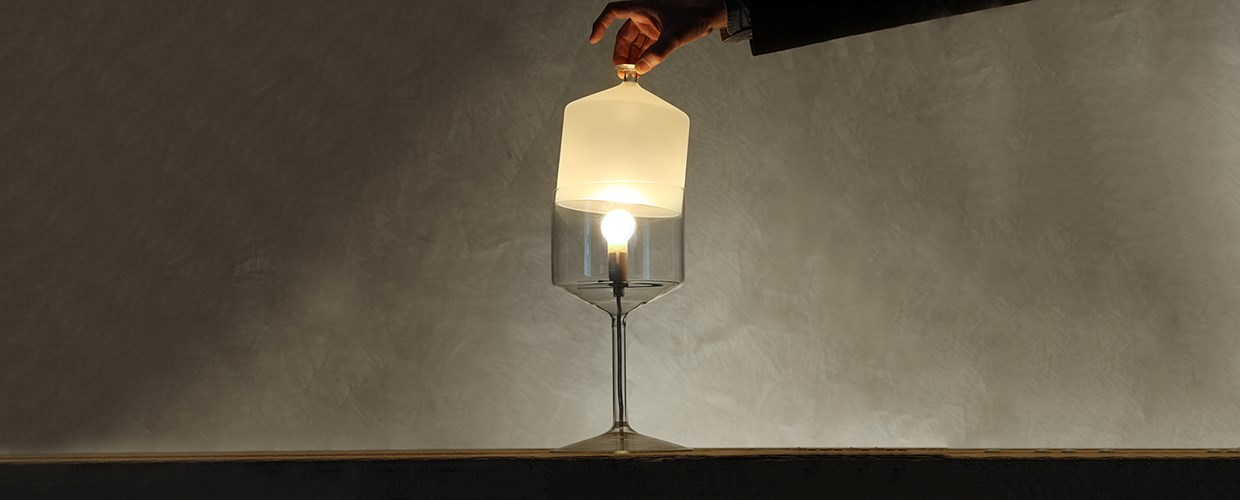 Bonne nuit table lamps lamps produzione privata michele de lucchi design - Tables de nuit design ...